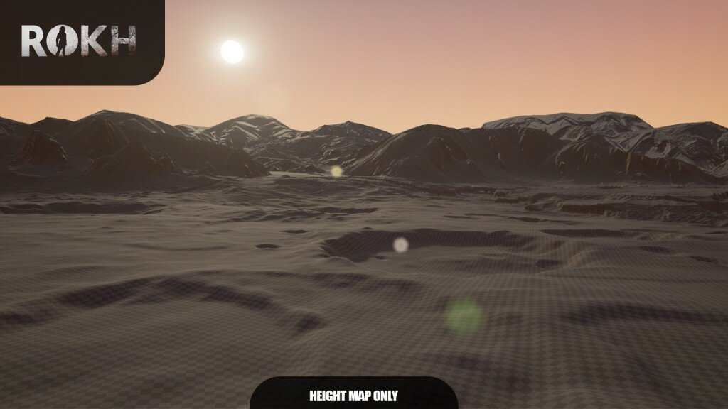 Sunrise on Mars