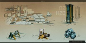Survival on Mars will be eased by your habitat